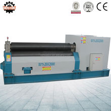 Hoston Multi function W11 sheet metal fabrication rolling machine/ steel sheet metal bending machine