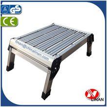 Special new coming step folding aluminum loft ladder