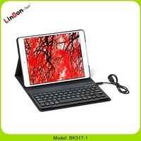360 Degree Rotate Bluetooth wireless Tablet PC Keyboard Case For iPad Air