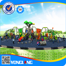 Hot sale big tree with high quality and a variety of activities and colorful kids outdoor playground