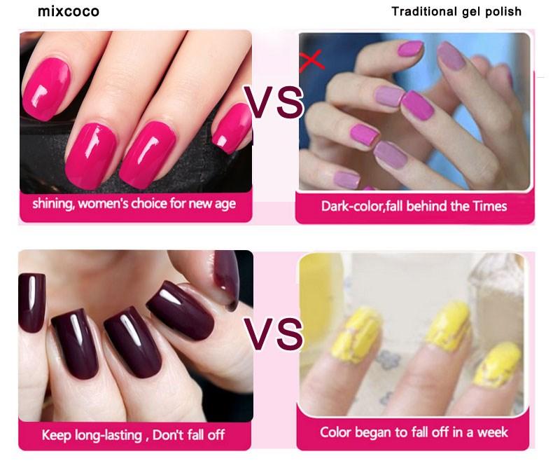Mixcoco Free Sample Uv Gel Nail Polish,Gel Nail Polish Kit,Uv Color ...