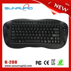 New Ergonomic Design 2 in 1 Functional Wireless Keyboard and Mouse for Laptop