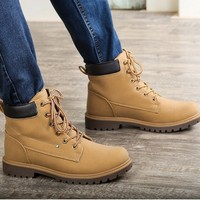 D24608Q 2014 the new winter British style men fashion casual short boots