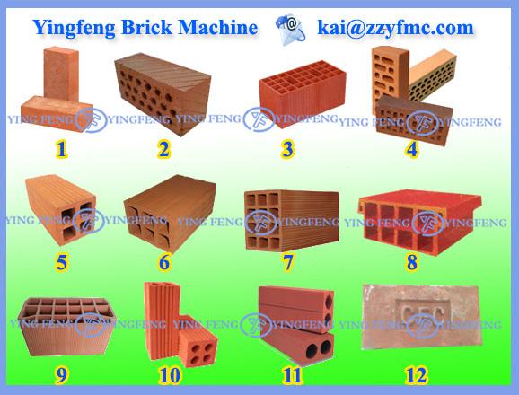 Types Of Fire Bricks : Newly design dzk fire brick making machine mini