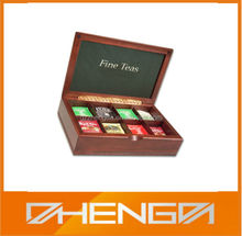 High Quality Tea Bag Chest with Compartments Made in China (TB133)