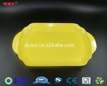 new design melamine tray / cheap plastic serving tray