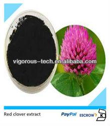 Natural Trifolium pratense / red clover herb extract powder