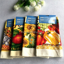 colourful of fruit custom print microfiber cleaning cloth