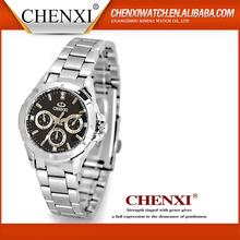 Wristwatch Black White USA Luxury All Stainless Steel Watch Man Stainless Steel Unisex Watch