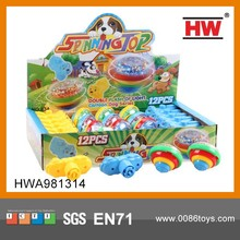 Hot Sale Classic Toy Spinning Top With Light 12PCS/BOX