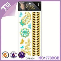 Glitter Tattoo Skin Glue,Temporary Fairy Tattoos,Metal Decorate Tattoo Sticker
