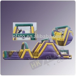 Welcome kids love giant Inflatable water Obstacle