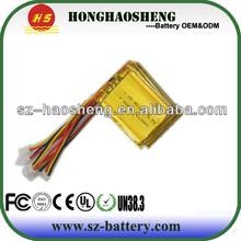 Shen zhen HHS supply 3.7v rechargeable polymer li ion battery gps