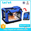 Comfort travel portable dog carrier bag dog crates for cars