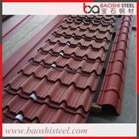Baoshi Steel leak proof outdoor decorative used flashing roof metal