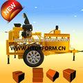 m7mi ceia máquina de fazer tijolos de barro lama