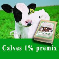 calf 1% vitamin premix for calf grower feed 0- 6months