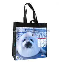 Color printed pp woven bag, Bopp laminated pp woven bag