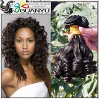 New Malaysian Virgin Hair 7A Grade 4 Bundles Unprocessed spring curl hair Bouncy Curl Beauty Forever 100% Human Hair