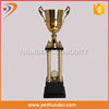 factory price golf ball first place trophy,gold-plated medal,medals with trophies