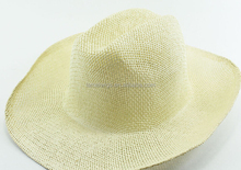 White Mexican Straw Cowboy Hats