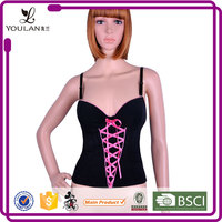 ODM & OEM Popular Hot Lady Polyester Plus Size Corsets And Bustiers