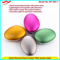 Portable Lucky Stone USB Rechargeable Hand Warmer Power Bank Mini USB Hand Warmer Heat Keeps Your Hands Warm in Winter