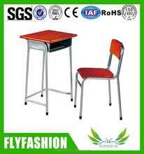 Hot-sale Used school furniture for sale/ Single student table and chair