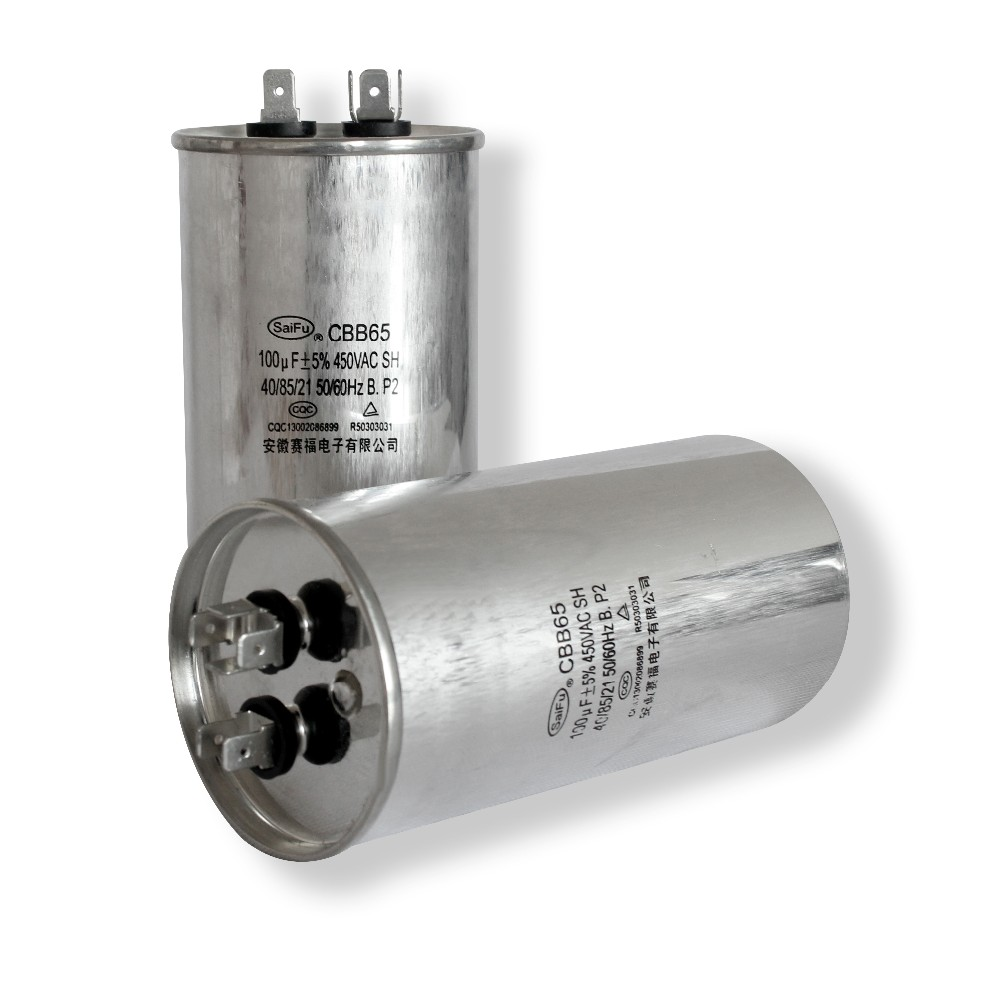 Cylindrical Air Cooler Ac Motor Capacitor Cbb65 - Buy High Quality ...