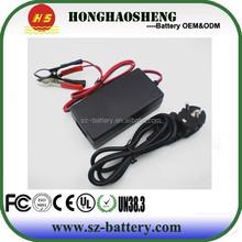 48v 4A lead acid battery charger li-ion E-bike battery charger with EU plug charger