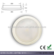 SC-A102A/indoor/Home Furnishing lighting1W/350mA LED COB Down Light/round Dia.50mm*H13.5mm