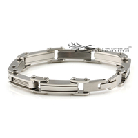 German Fashion Gentle Man High Class Stainless Steel Chain Bracelet Slave Bracelets Stainless Steel Bracelet