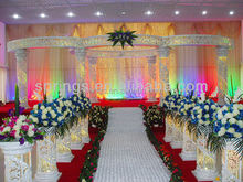 2015 New Carved flower wedding pagoda