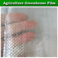 high quality clear plastic reinforced greenhouse film / plastic film for green house