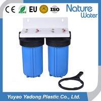 2 stage big blue water filter with bracket