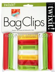 13pcs Plastic bag sealer clip for hair extensions