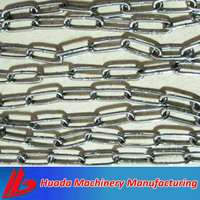 galvanized iron link chain factory