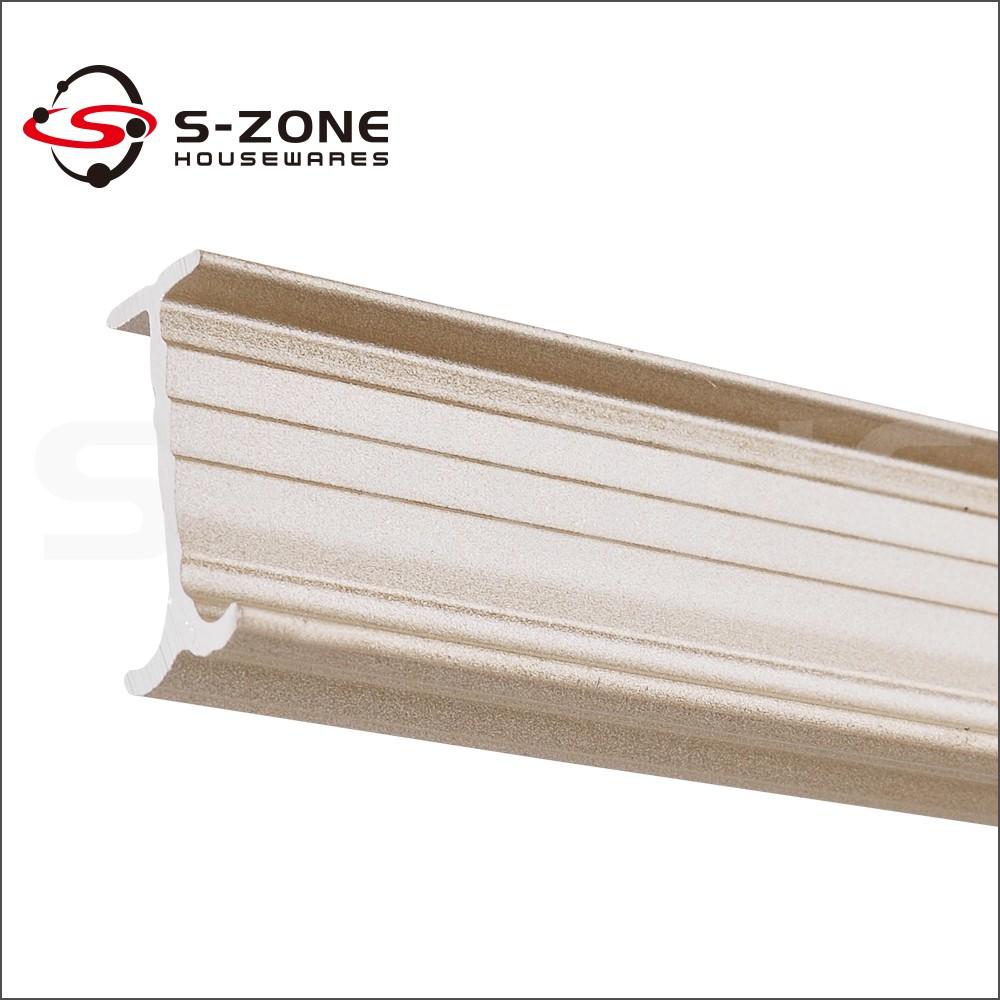 Szone elektroforese flexibele gebogen aluminium rail gordijnen ...