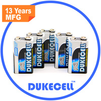 DUKECELL LR6 AA 2500mAh alkaline battery in golden label