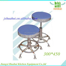 Hot sale stainless steel lab stool medical stools with wheels
