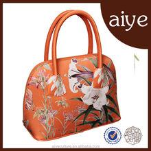 10 years factory 2015 Ladies Handbag Silk tote bag for women