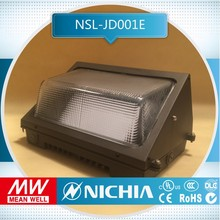 free sample dlc 100w for outdoor induction lamp led corner light, 100w wall mounted led pack light, led exterior paking lot ligh