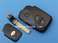 wholesale and Retails Lexus 3 button smart remote key card cover , key blank , key case shell