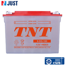 Most popular 2015 12v 160ah sealed acid electric vehicle battery in a cheap price