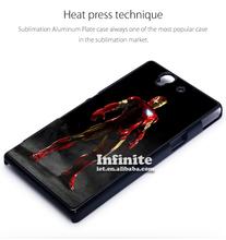 China manufacturer supply 2d sublimation case for Sony,sublimation phone case for sony Xperia Z L36H