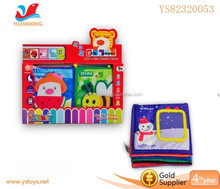 Four season english learning book for kids baby cloth photo book