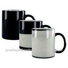 Ceramic Color changing mugs