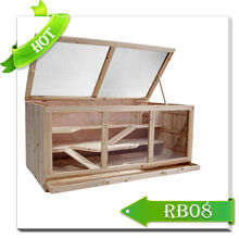 2015 hot sale wooden mouse cage/high quality luxury pet house