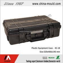 pad lockable plastic instrument carrying case