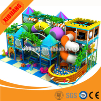 Commercial playsets children's castle playground indoor soft play for adults